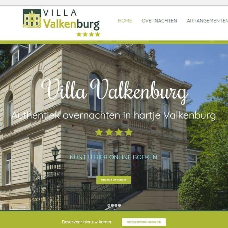 Website Hotel Valkenburg