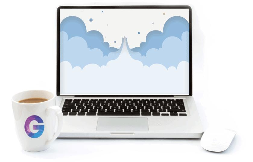 laptop apple rocket